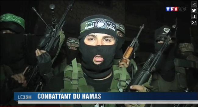 TF1 - conbattant du hamas