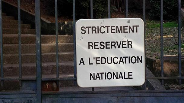 strictement reserver à l'éducation nationale