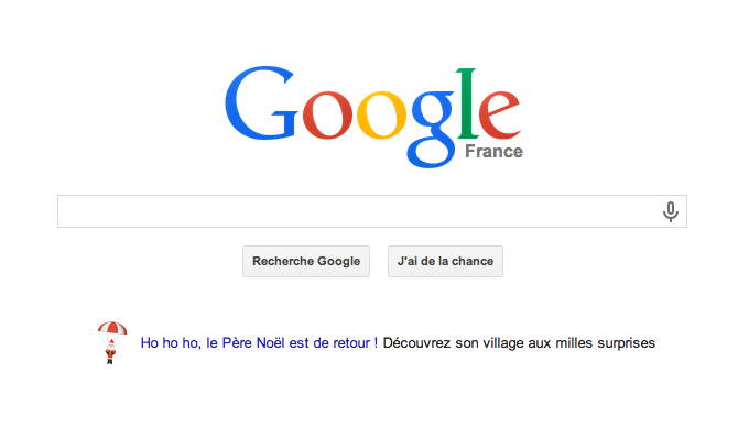 page accueil google milles