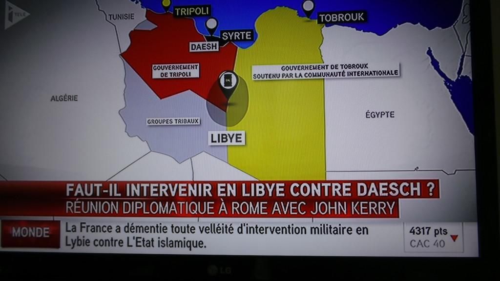 """Sur Itélé, j'ai """"démenti"""" l'ortho de """"Lybie""""..."""